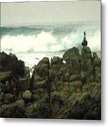 Feng Shui On The Monterey Peninsula Metal Print
