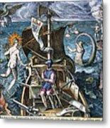 Ferdinand Magellan Metal Print