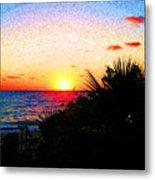 Fernandez Bay Sunset Metal Print