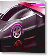 Ferrari 14 Metal Print