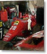 Ferrari 156/85 Metal Print