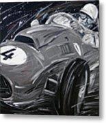 Ferrari 1958 Hawthrorn Metal Print