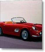 Ferrari 250 Gt California Spyder 1957 Painting Metal Print