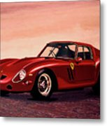 Ferrari 250 Gto 1962 Painting Metal Print