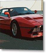 Ferrari 288 Gto - Powerslide Metal Print