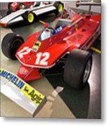 Ferrari 312t4 Front Left Museo Ferrari Metal Print