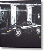 Ferrari 348 Gtr Testarrossa Metal Print