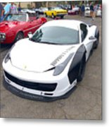 Ferrari 458 Wide Body Metal Print