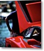 Ferrari 5 Metal Print