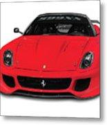 Ferrari 599xx Metal Print
