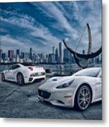 Ferrari California Metal Print