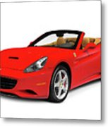 Ferrari California Metal Print