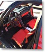 Ferrari Enzo Interior Metal Print