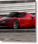Ferrari Enzo - Rosso Corsa Metal Print