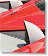 Ferrari Exhaust Pipes Metal Print
