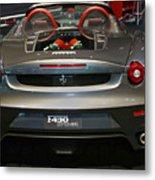 Ferrari F430 Spyder Convertible Metal Print