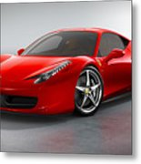 Ferrari Italia  Metal Print