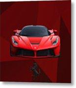 Ferrari Laferrari Metal Print