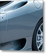 Ferrari Wheel Metal Print