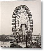 Ferris Wheel, 1893 Metal Print