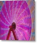 Ferris Wheel I Metal Print