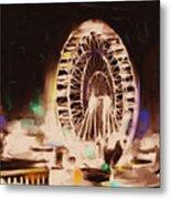 Ferris Wheels Tower 536 2 Metal Print