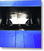 Ferry Abstract Metal Print