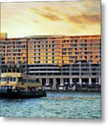 Ferry And The Toaster Metal Print
