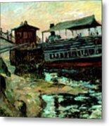 Ferry Boat Metal Print