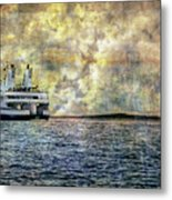 Ferry Boat Metal Print