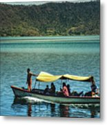 Ferry - Lago De Coatepeque - El Salvador I Metal Print