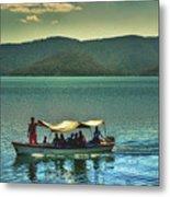Ferry - Lago De Coatepeque - El Salvador Metal Print