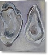 Ferry Oysters Metal Print