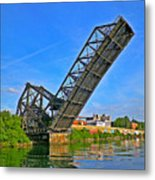 Ferry St Draw Bridge Metal Print