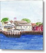 Ferry To Greenport Metal Print