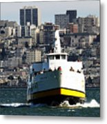 Ferryboat On The Bay Metal Print