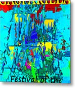 Festival Of The Pirate Metal Print