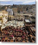 Fez Morocco Metal Print