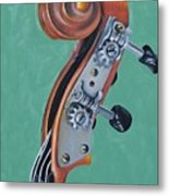 Fiddle Iv Metal Print