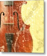 Fiddle Metal Print