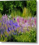 Fields of Purple Metal Print