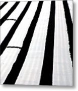Fields Of Sheets Metal Print