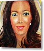 Fiercewomen Portrait Of Adrienne Metal Print