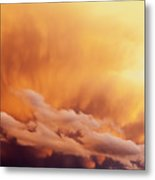 Fiery Cloudscape Metal Print