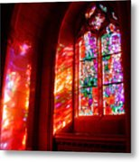 Fiery Light 2 Metal Print