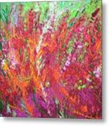 Fiery Meadow Metal Print