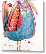 Fiesta Bird Metal Print