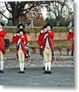 Fifes And Drums Metal Print