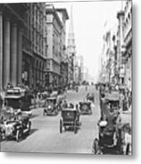Fifth Avenue And East 34th Street New York City 1907 Metal Print by Padre Art