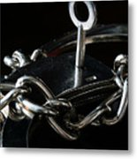 Fifty Shades Of Steel  Metal Print
